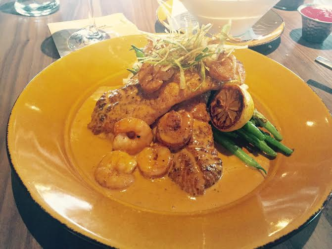 Red Snapper Entree